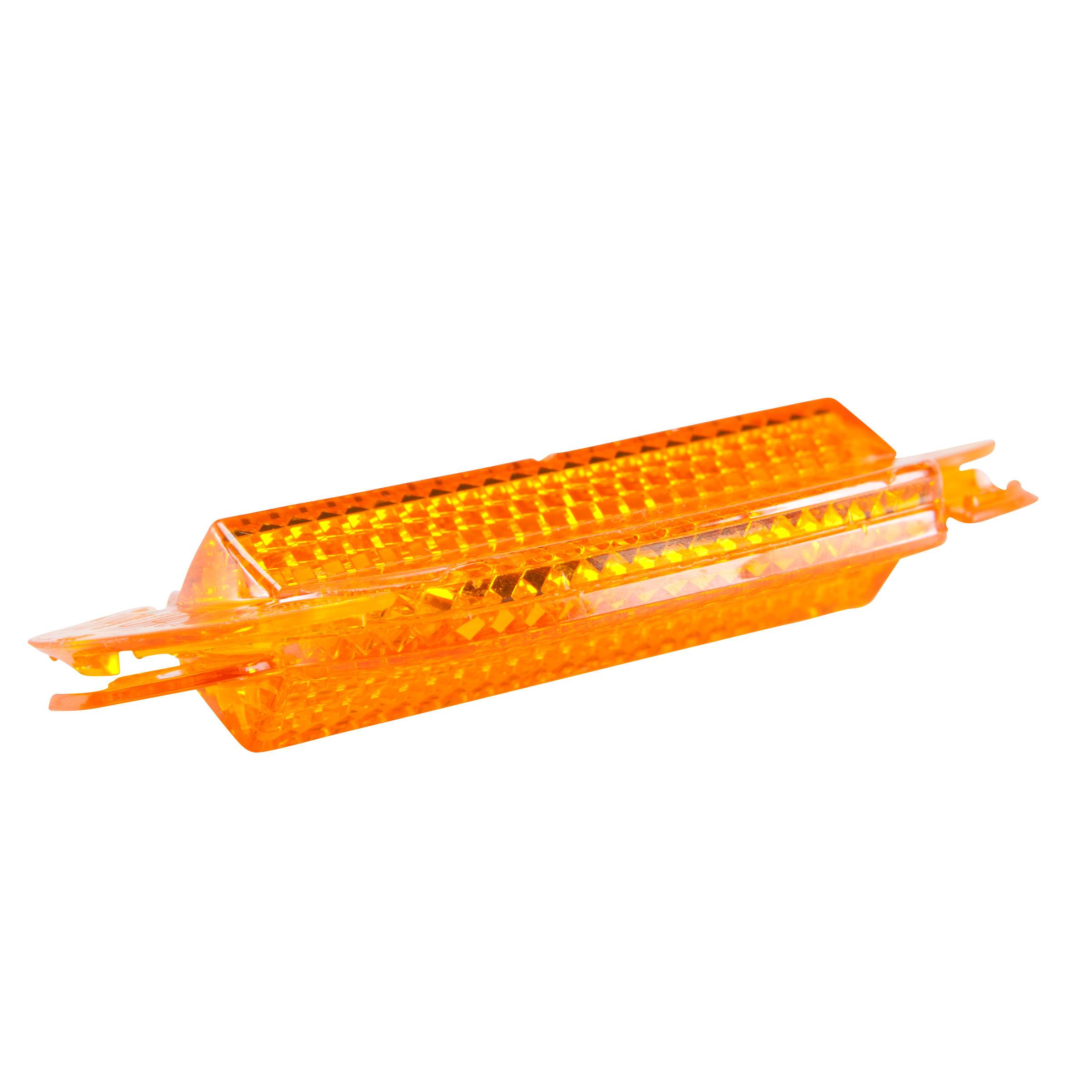 Wheel Reflectors Twin-Pack - Orange