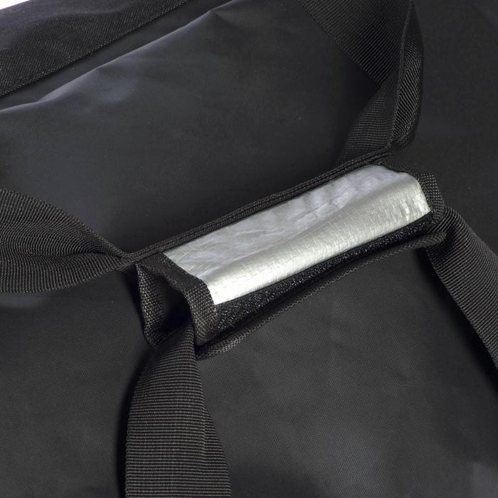 Sac de voyage de plongée bouteille coque rigide SCD 90 L noir/bleu - 1161824