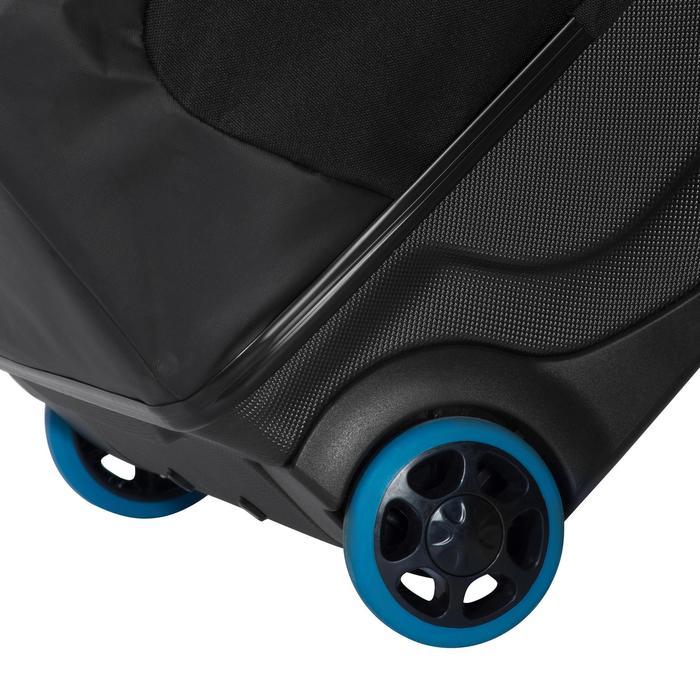 Duiktas / reistas op wieltjes met stijve schaal SCD 120 l trolley zwart/blauw