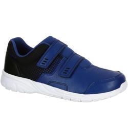 Zapatillas de marcha deportiva para niños Actiwalk 100 negro / azul