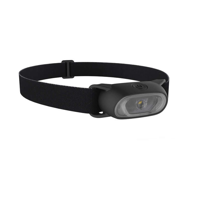 HEADLAMPS HIKING/TREK Hiking - HEAD LAMP ONNIGHT 50 - black FORCLAZ - Hiking Gear