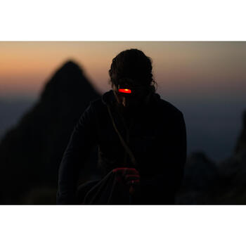 Lampe frontale Trekking ONNIGHT 100 Noire - 80 lumens - 1161852