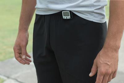 פדומטר עם מד תאוצה ONwalk 500 שחור