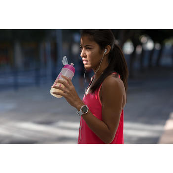 Sportuhr digital W900 M Swip weiß/Leder