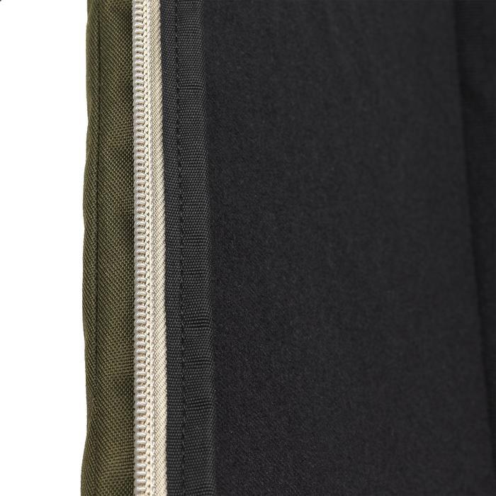 Funda Rifle Caza Solognac 500 Perlante 123 cm Espuma Doble Densidad 30 mm Verde