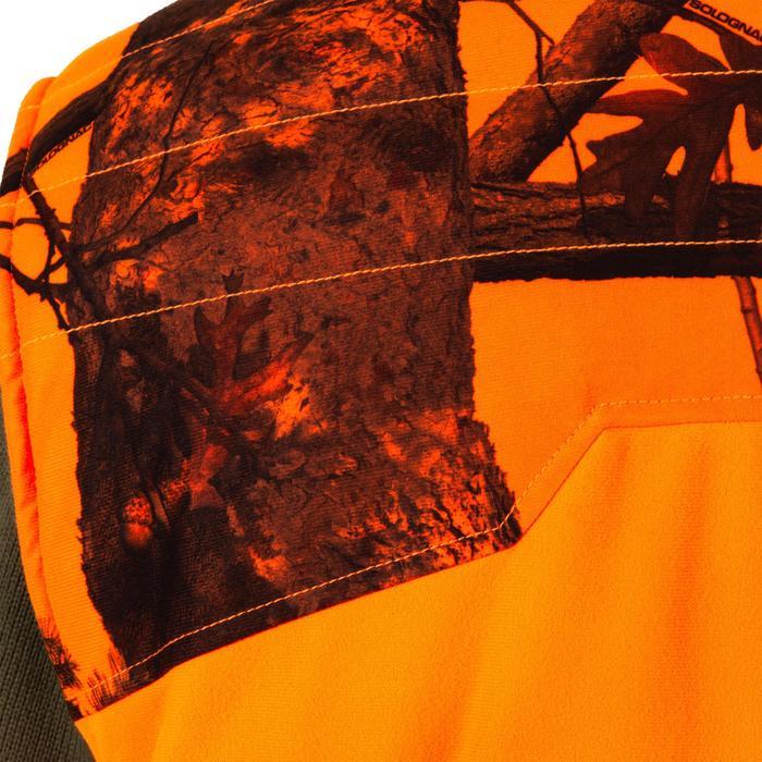 Bodywarmer 500 voor de jacht fluo camo