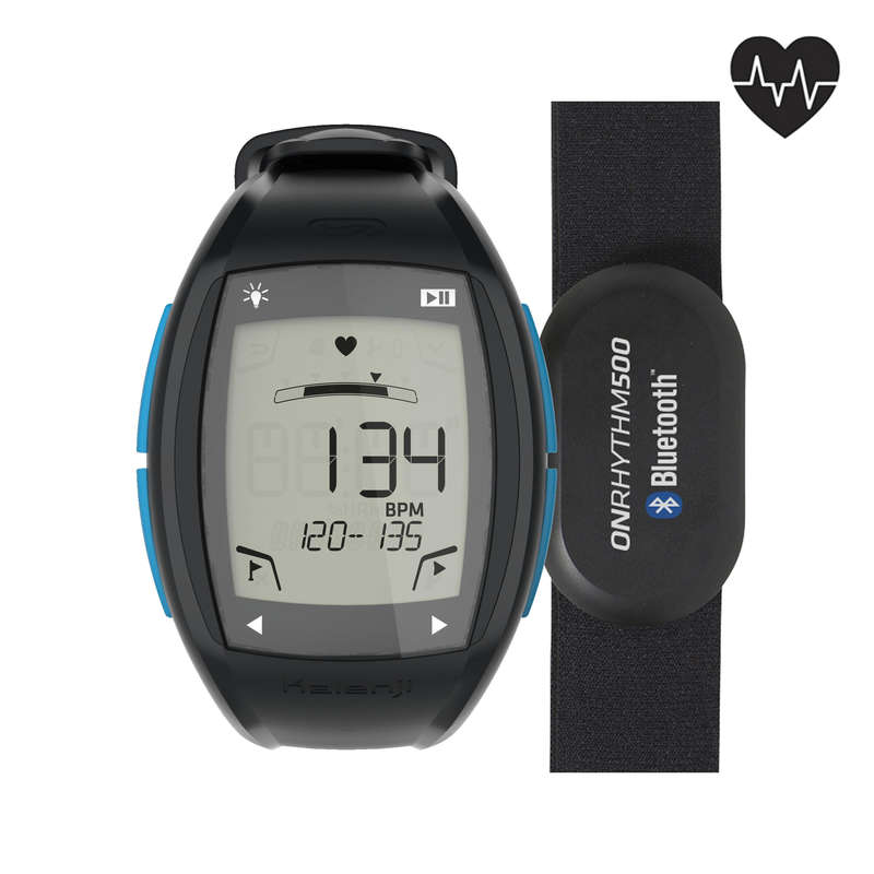 HEART RATE MONITORS Running - ONRHYTHM 500 cardio watch KALENJI - Running Accessories
