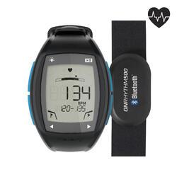 Horloge met hartslagmeter voor lopers ONrhythm 500