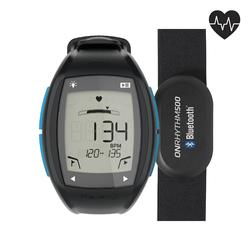 ONRHYTHM 500 runner's heart rate monitor watch blue