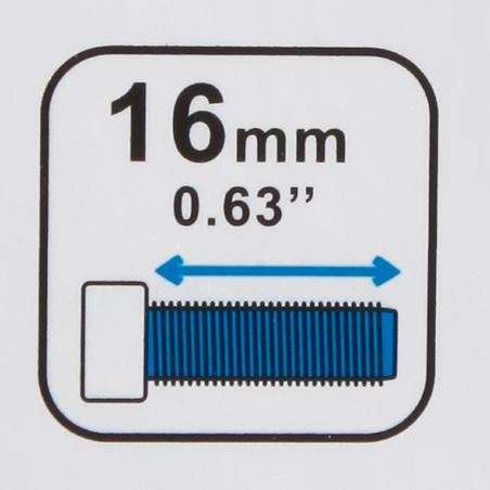 2 tornillos portacaramañola bicicleta 16 mm