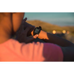 Horloge met hartslagmeter voor lopers ONrhythm 500 blauw