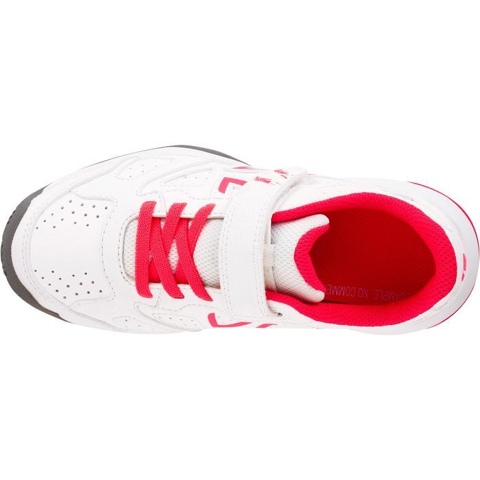Tennisschuhe TS530 Turnschuhe Kinder weiß/rosa