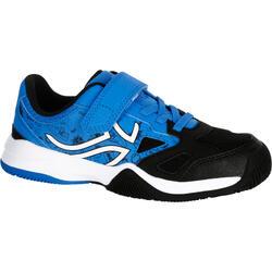 Tennisschuhe TS560 Turnschuhe Kinder blau/schwarz