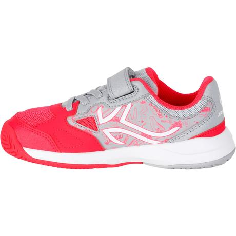 ts860 tennis shoes grey pink artengo
