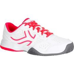 Tennisschoenen voor kinderen Artengo TS530 wit roze