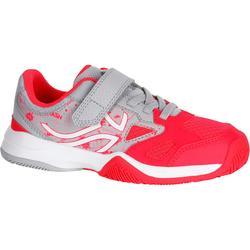 TS560 兒童網球鞋 - 灰色/粉紅色