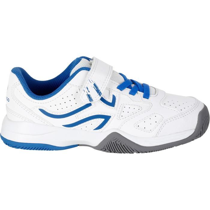 Tennisschuhe TS530 Turnschuhe Kinder weiß/blau