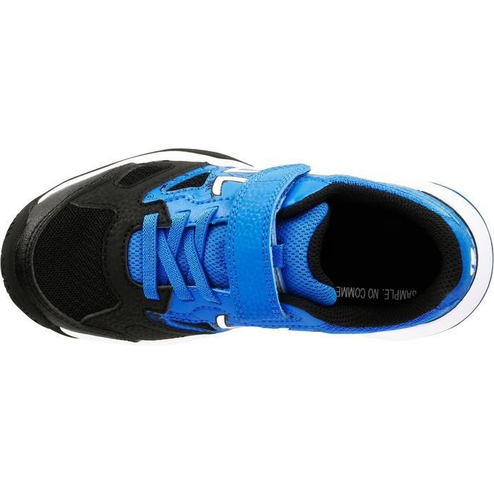 Tennisschuhe TS560 Kinder blau/schwarz