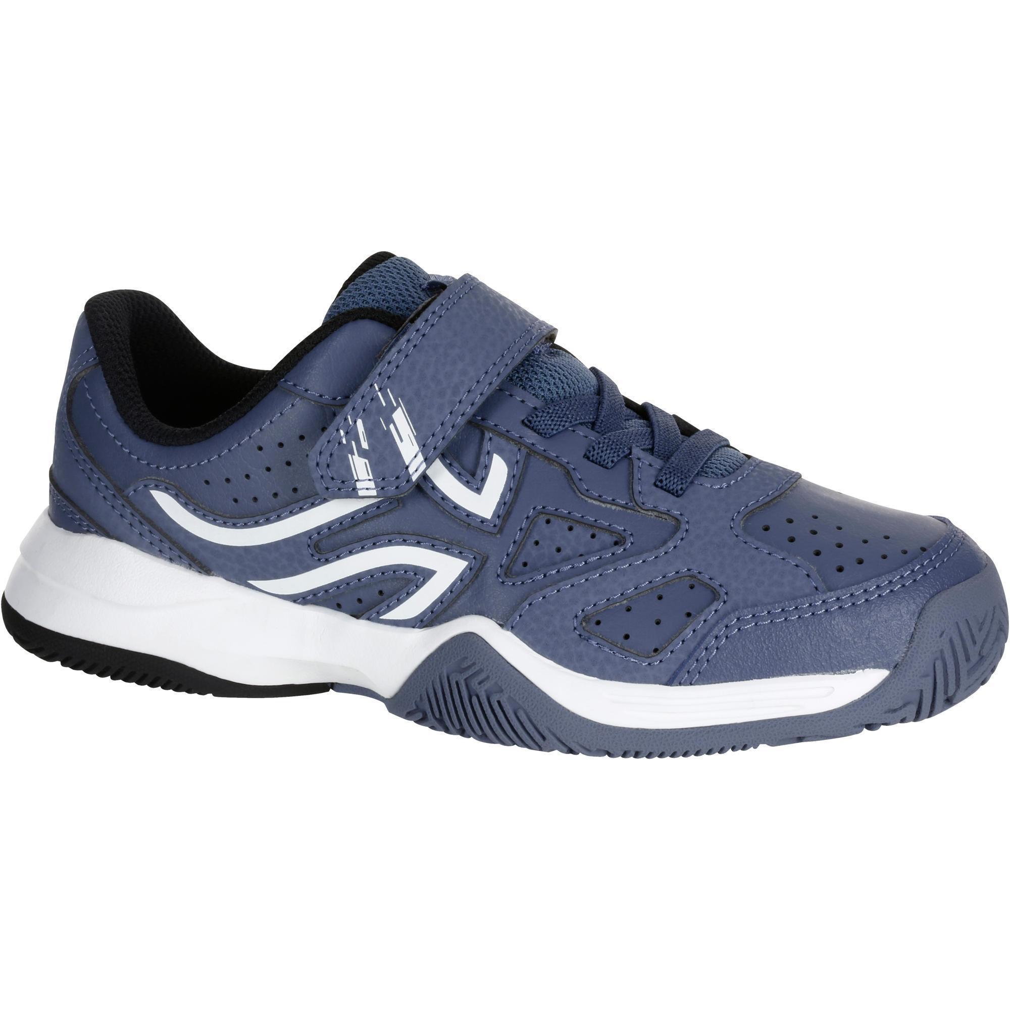 Chaussure de tennis enfant artengo ts530 gris artengo - Chaussure enfant decathlon ...