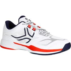 TS560 Tennis Shoes - Navy Blue/Red
