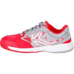 兒童網球鞋560 - 灰色/粉紅色