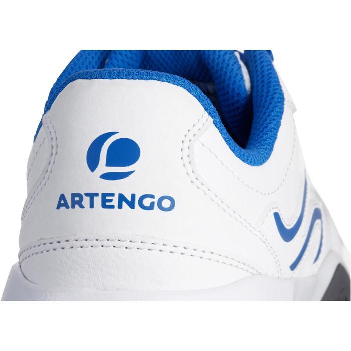 Tennisschoenen voor kinderen Artengo TS530 wit blauw
