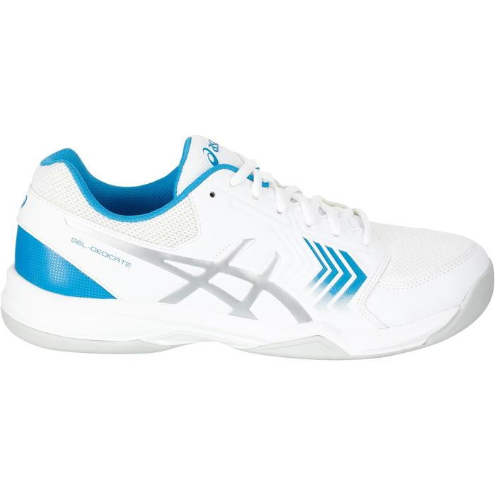 tennisschuhe gel dedicate 5 indoor herren weiss asics decathlon. Black Bedroom Furniture Sets. Home Design Ideas