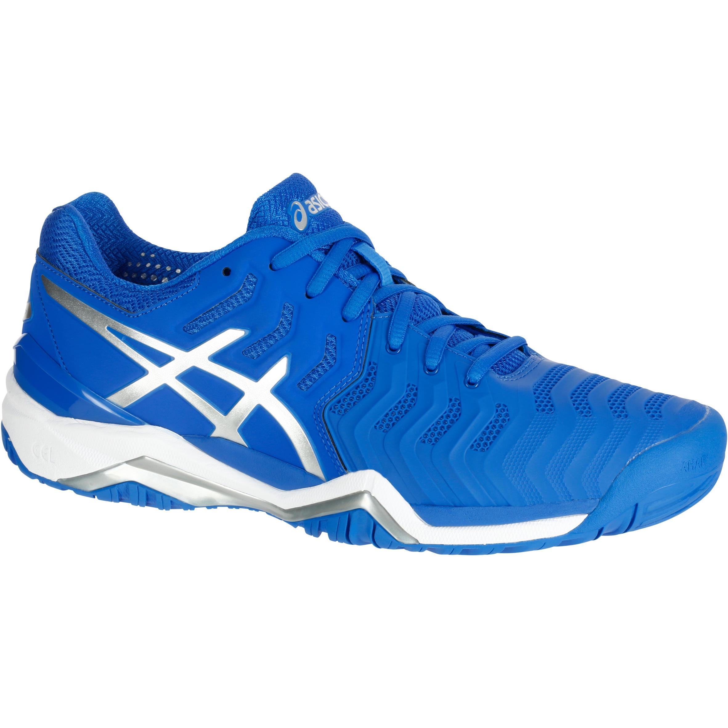 Asics Tennisschoenen voor heren Gel Resolution 7 electric blue