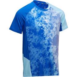 T-Shirt 860 Badminton Tischtennis Tennis Herren hellblau