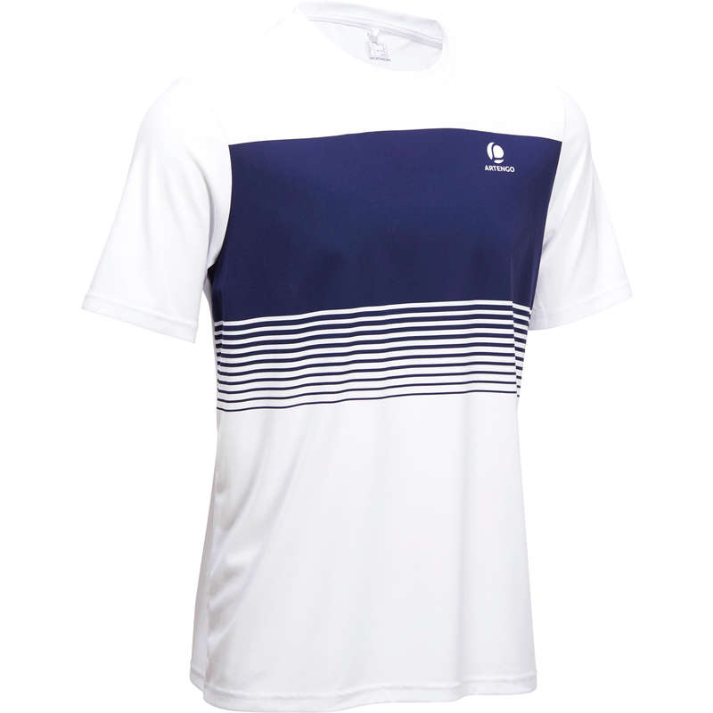 MEN WARM CONDITION RACKET SP APAREL Tennis - Soft 100 - White ARTENGO - Tennis Clothes