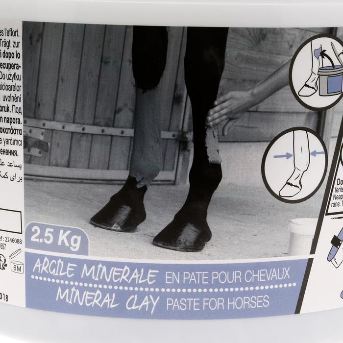 Argile minérale équitation cheval et poney 2.5 KG - 1162419