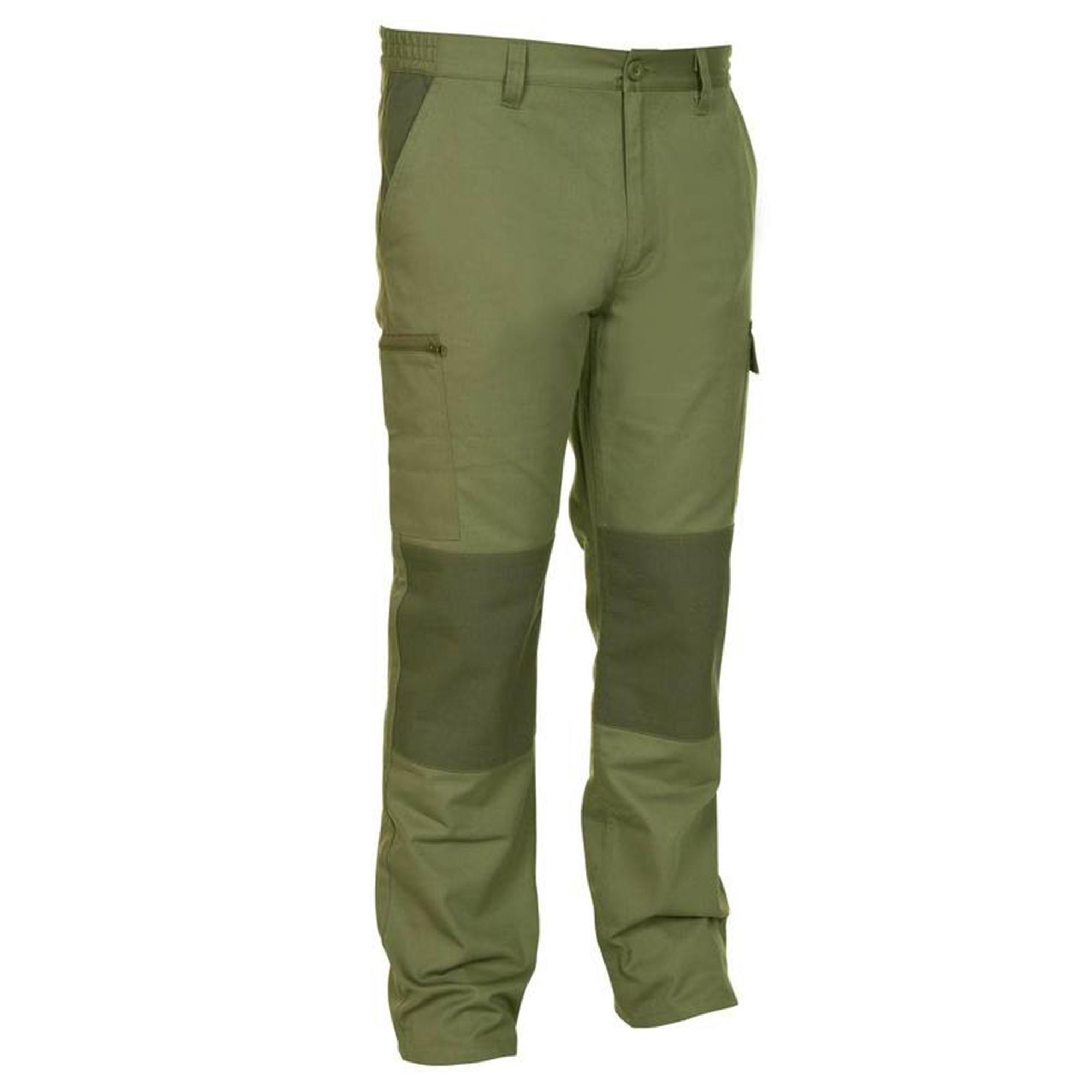Jagdhose Steppe 300 zweifarbig | Sportbekleidung > Sporthosen > Trekkinghosen | Solognac