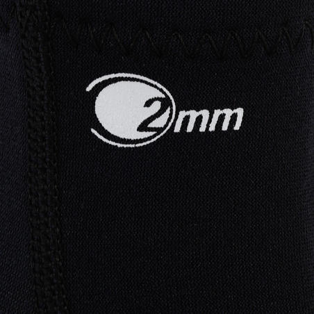 Chausson neoprene de plongée SCD 2 mm