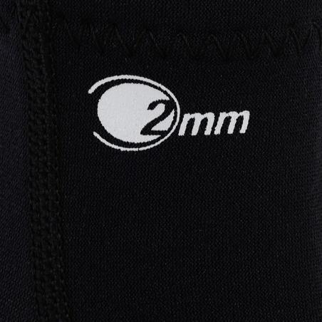 Neopreninės nardymo su akvalangu kojinės, 2 mm