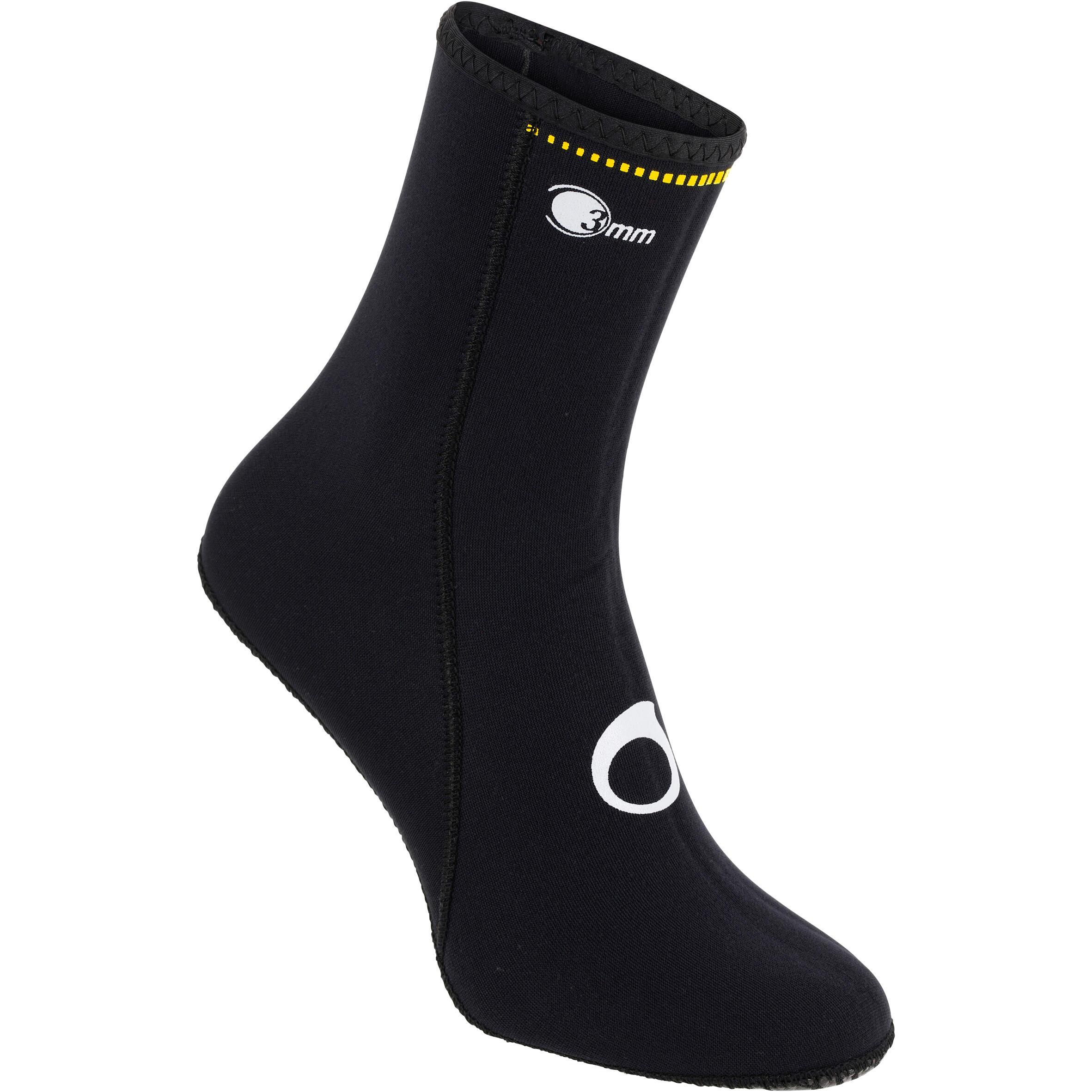 Zapato acuático sin suela de submarinismo Hanka 3 mm.