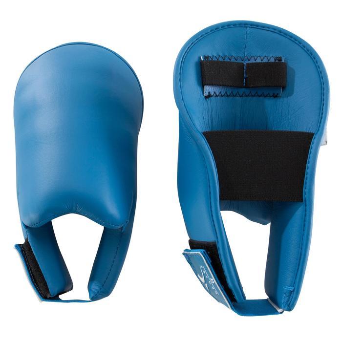 Karate-Fußschutz blau