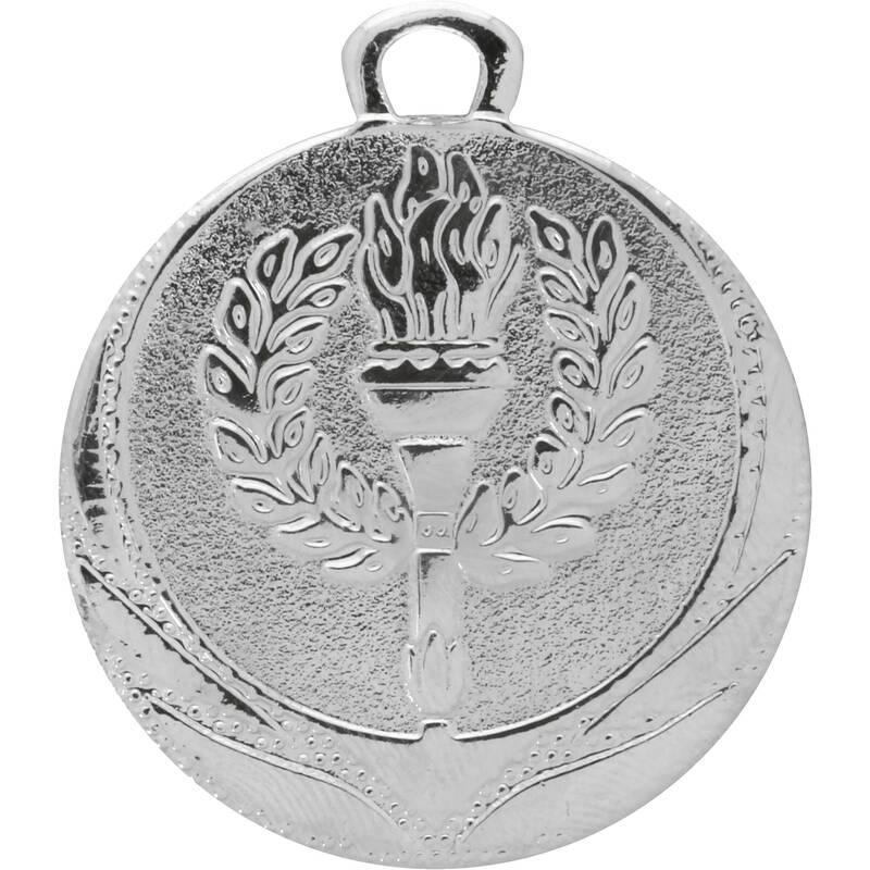 Medals Fotbal - STŘÍBRNÁ MEDAILE 32 MM BIEMANS TROPHY PRODU - Vybavení pro hráče a kluby