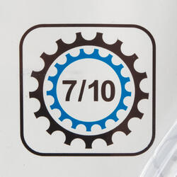 Crankstel race triple 7-10 speed - 116257