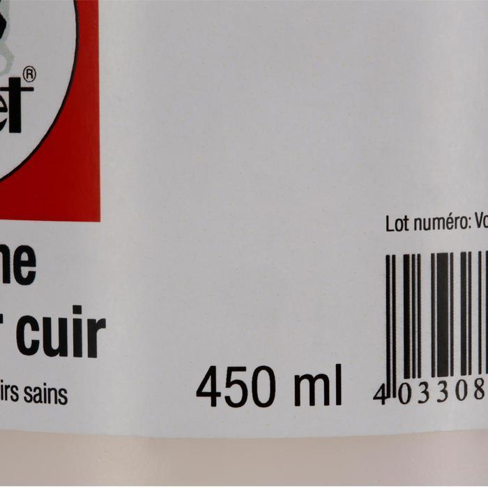 Huile paraffine pour cuir + pinceau équitation - 450 ML