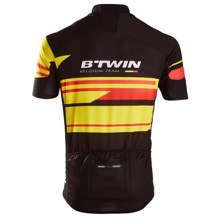 Fietsshirt voor heren korte mouwen Roadcycling 900 Belgium