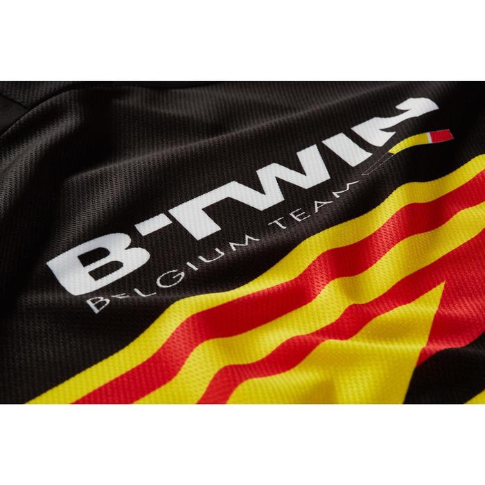 Kurzarm-Radtrikot Rennrad 900 Belgien Herren