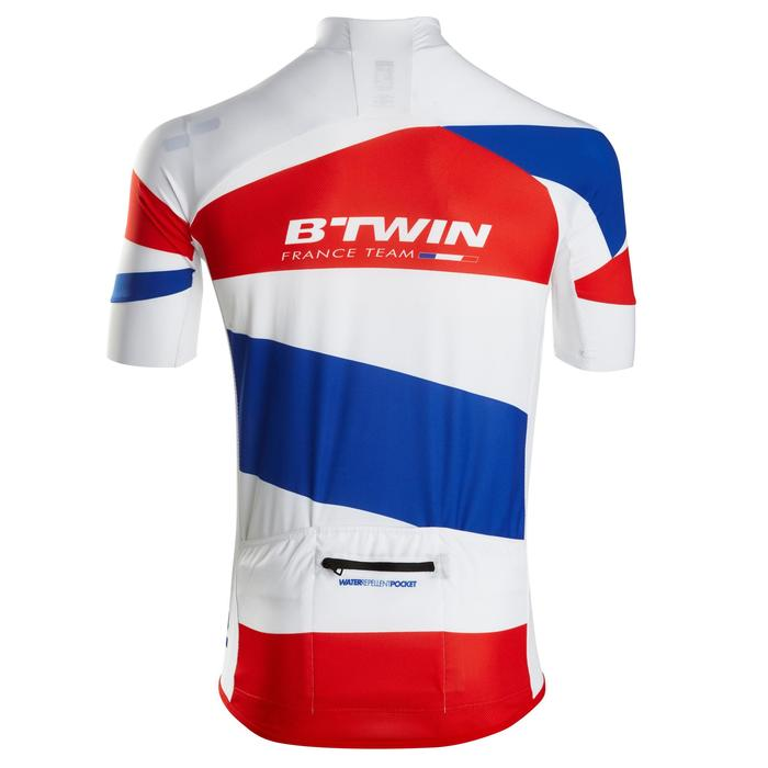 MAILLOT VELO ROUTE MANCHES COURTES HOMME ROADCYCLING 900 FRANCE