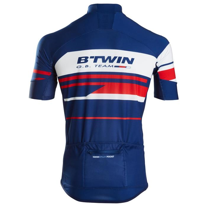 MAILLOT VELO ROUTE MANCHES COURTES HOMME ROADCYCLING 900  XRED NAVY - 1162701