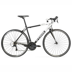 Triban 520 Cyclotourism Road Bike - Black/White