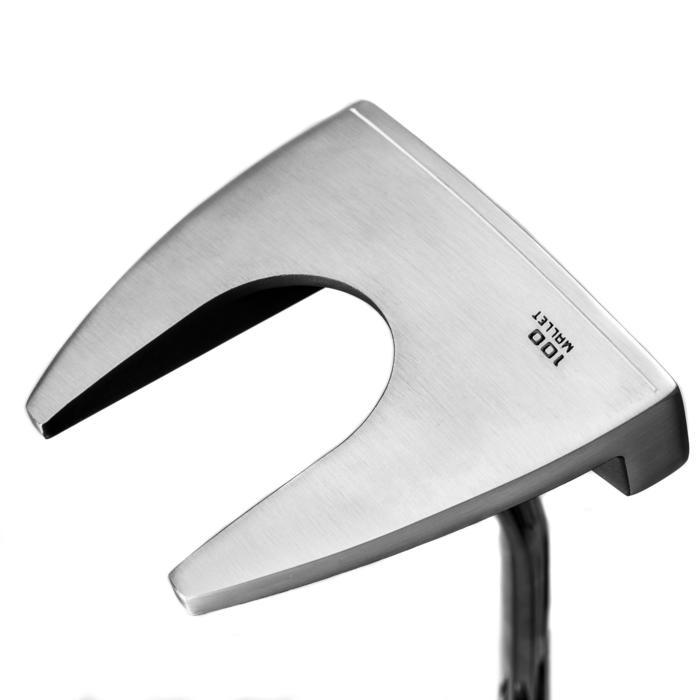 Golf Putter Mallet 100 Linkshand Erwachsene