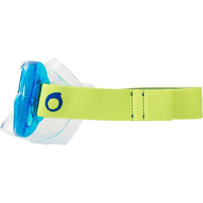 Masque de snorkeling SNK 520 vert turquoise