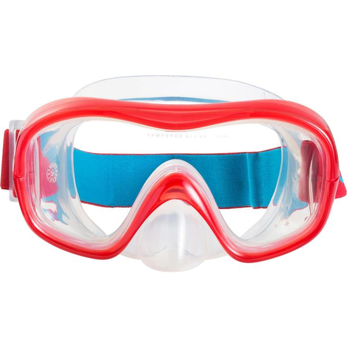 Kit masque tuba de snorkeling 520 Adulte - 1163047