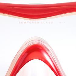 Schnorchel-Set Tuba SNK 520 Erwachsene rot/türkis