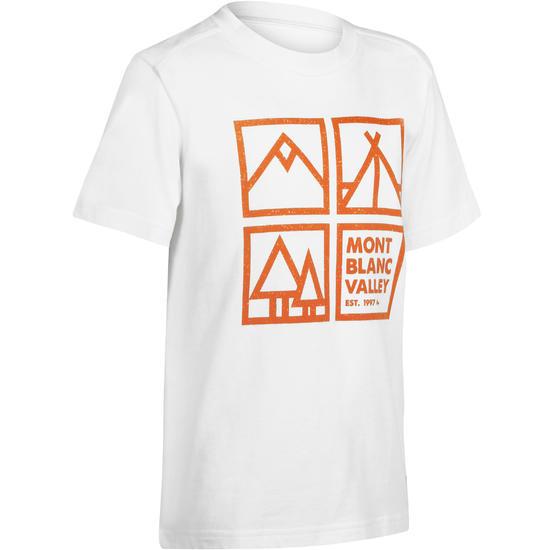 Jongens T-shirt voor wandelen Hike 500 - 1163056