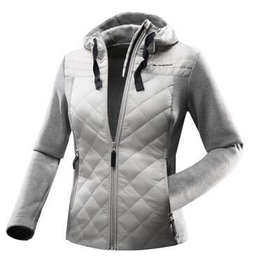 NH500 Hybrid Women's Hiking Pullover - Beige